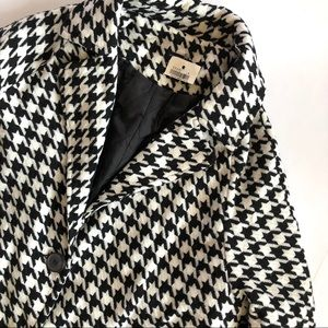 Brandy Melville Houndstooth Coat NWT RARE